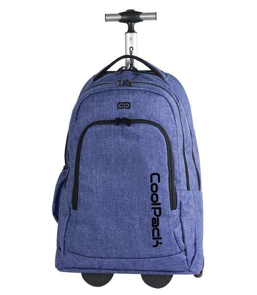 Plecak młodzieżowy na kółkach Coolpack Snow Blue 76272CP zdjęcie 1