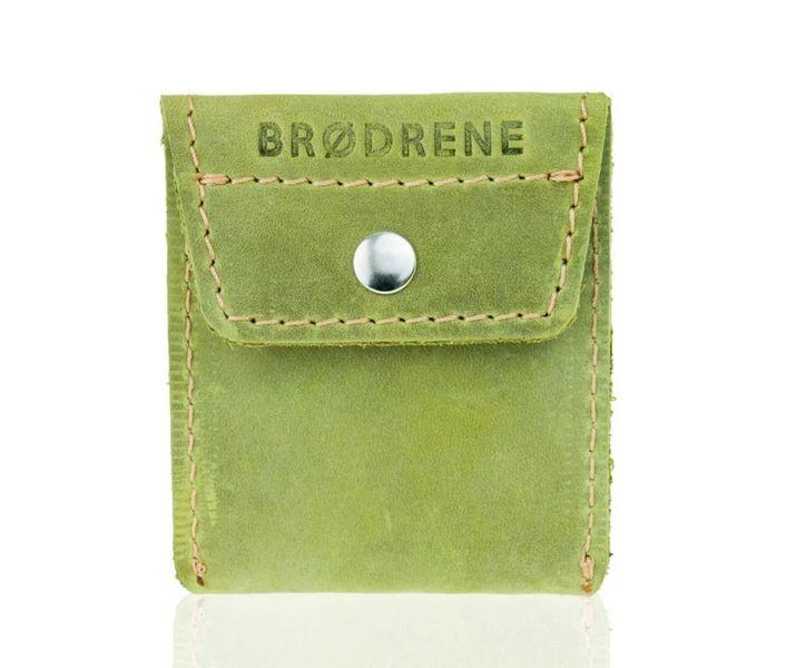 7401ff1882ae1 Skórzany portfel na monety bilonówka Brodrene oliwkowy • Arena.pl