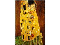 80cm 120 obraz Pocałunek wg Gustav Klimt ścienny druk cyfrowy