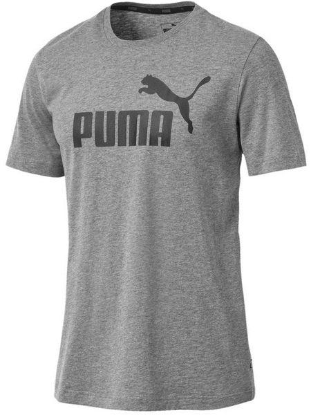 Koszulka Puma ESS Logo Tee szara 851740 03 L na Arena.pl