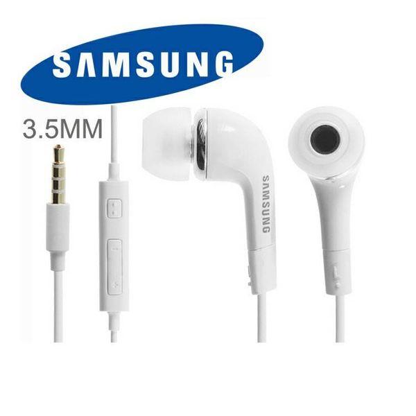 Oryg. słuchawki z mikrofonem SAMSUNG EHS64 białe zdjęcie 1