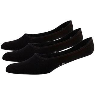 Skarpety damskie Reebok TE Invisible Sock 3 pary czarne FQ5313