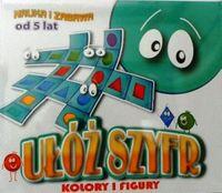 Ułóż szyfr gra planszowa dzieci edukacyjnya nauka
