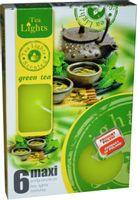 Duże podgrzewacze Tealight Maxi a'6 Green tea