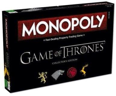 Monopoly Gra o Tron 25010 Wersja  Kolekcjonerska  HASBRO zdjęcie 1
