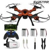 Dron EVOSTAR Sky Explorer z Kamerą WiFi 6Axis 3Aku Z19G