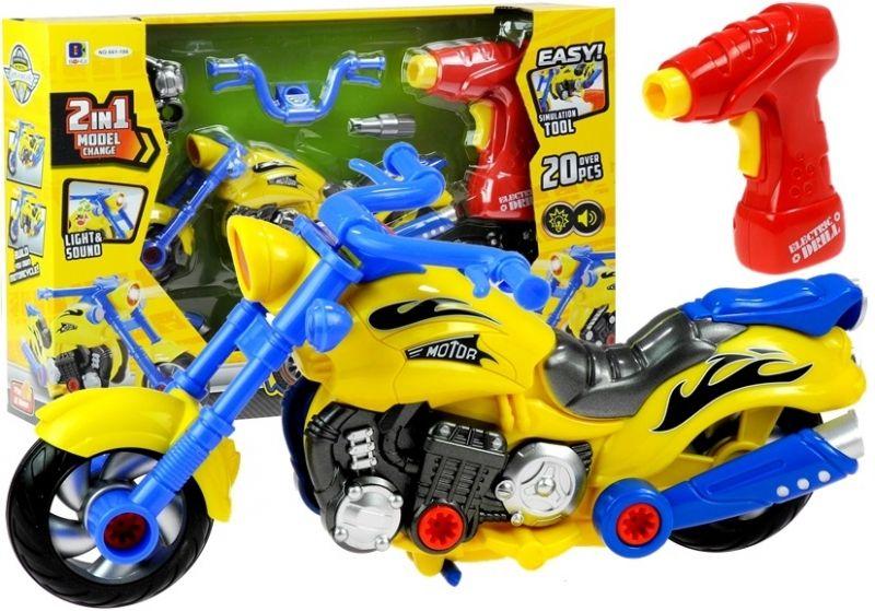 MOTOR DO SKRĘCANIA Z WKRĘTARKĄ DŹWIĘKI 2W1 #C1 zdjęcie 1