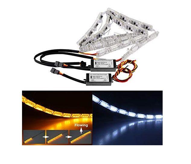 ŚWIATŁA DRL LED + płynący kierunkowskaz zdjęcie 7