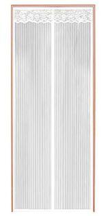 MOSKITIERA NA DRZWI 100x220 CM Z MAGNESAMI  - biały