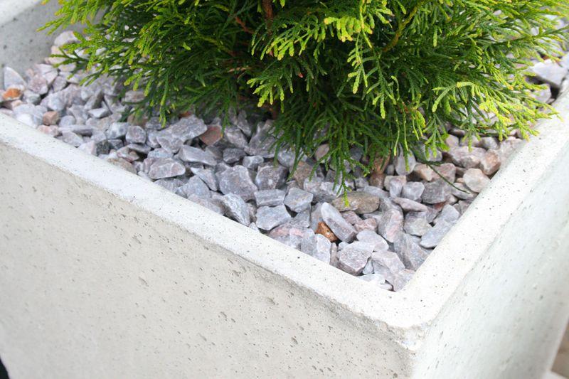 Donice Betonowe Beton Architektoniczny 4 ROZMIARY zdjęcie 3