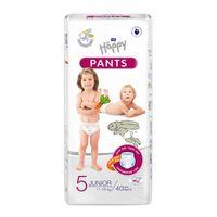 Pieluchomajtki dla dzieci Happy Pants Junior 11-18 kg Folia 40 szt.