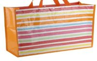 Torba Na Zakupy Plażę Kolorowe Paski H