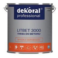 Dekoral Professional Litbet farba do betonu 5L RAL
