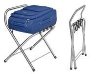 Stojak na bagaż - stal nierdzewna - 50 kg Royal Catering RCSR-550