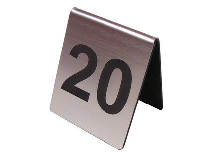 numer numerki na stolik stojak do restauracji