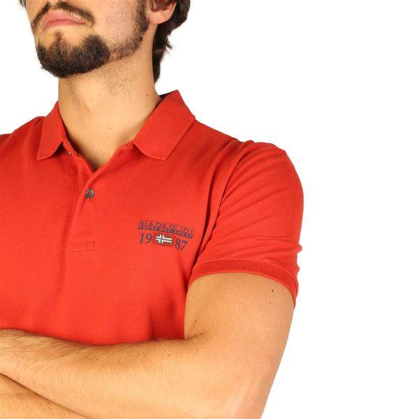 Napapijri koszulka męska polo pomarańczowy L zdjęcie 2