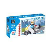 KLOCKI BLOCKI POLICJA MOTOR 30el