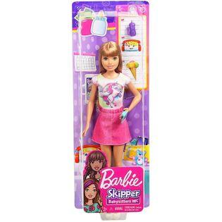 Barbie Lalki Opiekunka SKIPPER BABYSITTERS FHY89