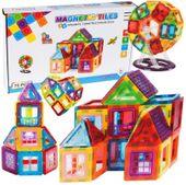 Klocki Magnetyczne 70 elementów Układanka Magnetic 3D U66