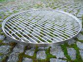 Ruszt do grilla ze stali nierdzewnej - okrągły 50 cm ES-ER zdjęcie 5