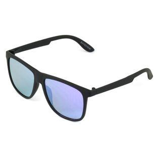 Okulary przeciwsłoneczne męskie matowe lustrzane