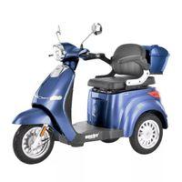 Hecht Citis Max Blue Wózek Skuter Elektryczny Inwalidzki Dla Seniora Akumulatorowy E-Skuter Motor - Oficjalny Dystrybutor -Autoryzowany Dealer Hecht