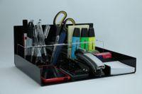 Organizer na biurko przybornik na długopisy pojemnik
