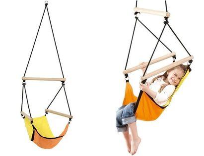 Huśtawka dziecięca – wiszący fotel Kid's Swinger orange