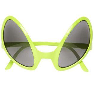 """Okulary party """"Kosmita"""", zielony, WIDMANN"""
