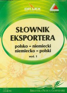 Słownik eksportera polsko-niemiecki niemiecko-polski Kapusta Piotr