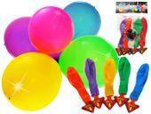 Kolorowe balony świecące LED 5szt 30 cm ZA1591