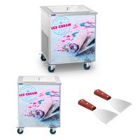 Maszyna do lodów tajskich - 50 x 50 cm Royal Catering RCFI-1S