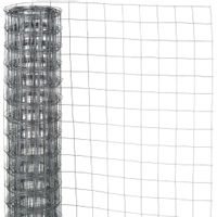 Siatka z drutu, kwadratowa 0,5x2,5 m, 13 mm, galwanizowana stal