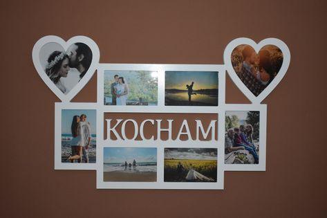 Multirama ramka na zdjęcia z napisem Kocham