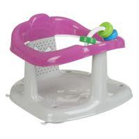MALTEX Krzesełko do kąpieli Panda zabawki szaro różowe