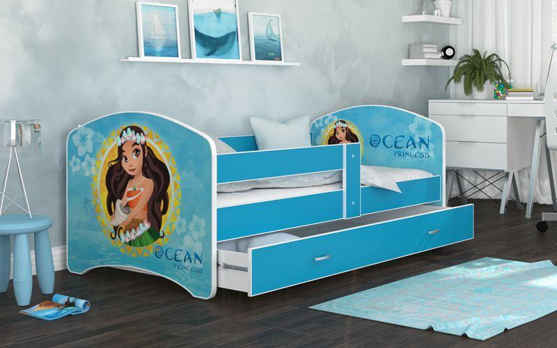 Łóżko 180x90 LUCKY szuflada + materac zdjęcie 5