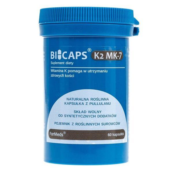 Formeds Bicaps K2 MK-7 - 60 kapsułek zdjęcie 1
