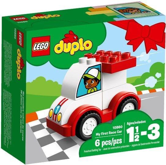 Klocki Lego Duplo Moje Pierwsza Wyścigówka 10860 Sklep Nygus