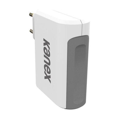 KANEX SZYBKA ŁADOWARKA SIECIOWA 4x USB 27W 4.8A iPhone Samsung Galaxy na Arena.pl