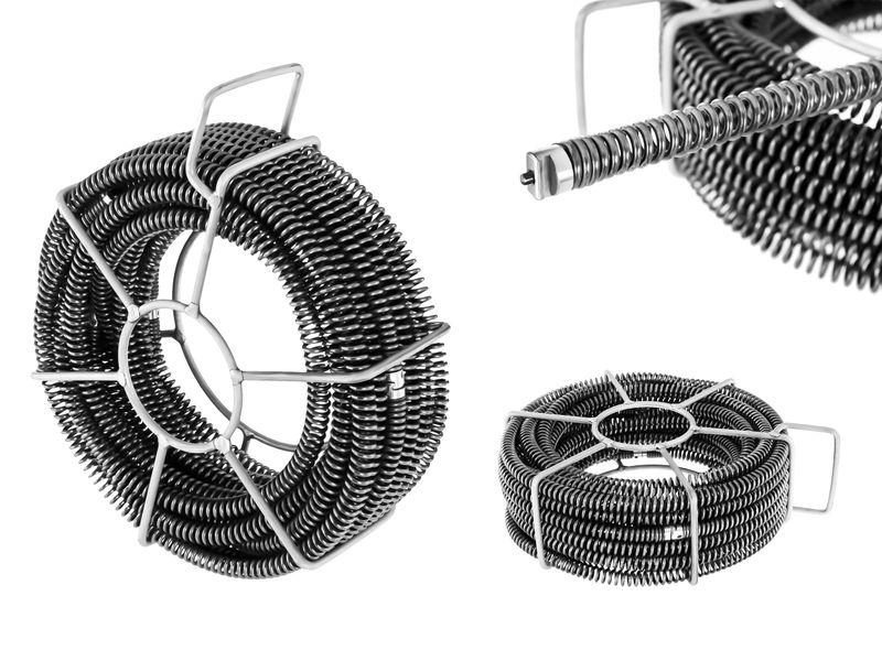 Spirala do rur - zestaw - 6 x 2,45 m / Ø 16 mm MSW MSW-CABLE SET 1 zdjęcie 1