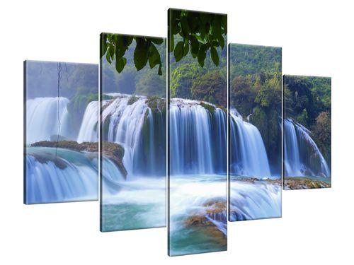 Obraz Drukowany 150x105 Wodospad Ban Gioc  widok dar na Arena.pl