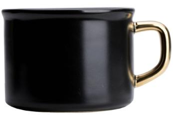 KUBEK - BLACK 250 ml - 1 szt - Home Decor