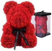 Miś z czerwonych róż Maskotka na Walentynki U58