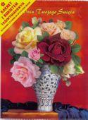 Karnet Bukiet - Róże