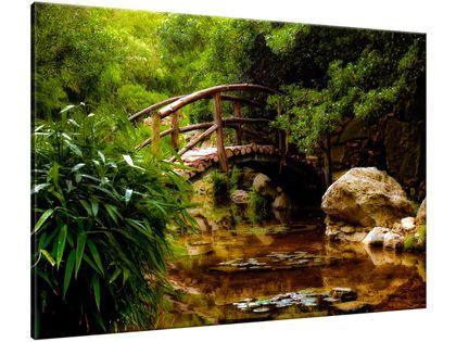 Obraz Japoński Ogród 100x70 POLSKI
