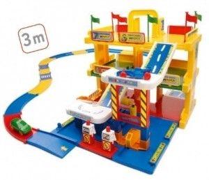 Kid Cars 3d Garaż Z Trasą 3m 3 Poziomy Wader 50400 A1 Arenapl