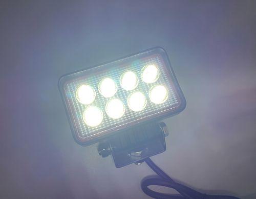LAMPA ROBOCZA 8 LED HALOGEN ROZPRASZAJĄCY 12V 24V na Arena.pl