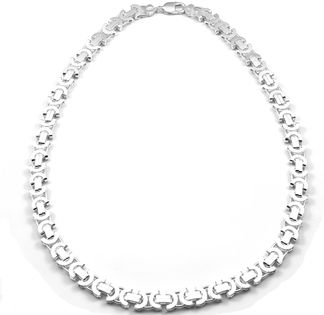 Łańcuch srebrny gruby EURO 60 cm
