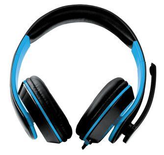 EGH300B Słuchawki z mikrofonem dla  graczy Condor niebieskie