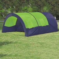 Lumarko Namiot turystyczny 6-osobowy, niebiesko-zielony